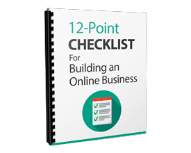 12 Point Online Business Checklist