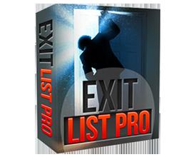 Exit List Pro Pop Ups