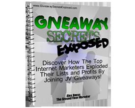 Giveaway Secrets
