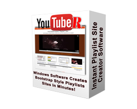 YouTube Playlist Site Creator